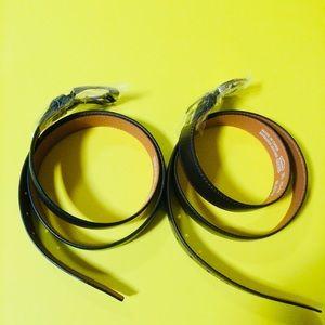 Men's Genuine Leather Belts SzXL (42-44) lot of 2